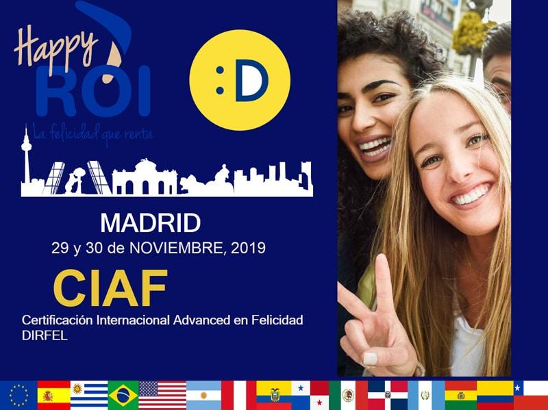 Certificación Internacional Advanced en Felicidad DIRFEL