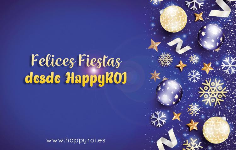 felicitación navidad happyroi